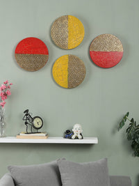 Hand-painted Limited Edition Metal Wall Art (Set of 4)