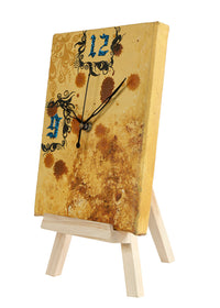 Hand-painted Journal Table Clock - RANGRAGE