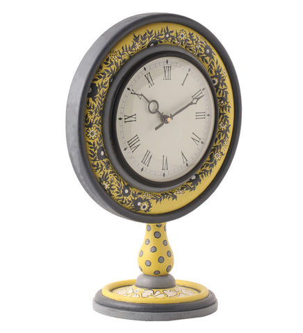 Hand-painted Autumn Mughal Table Clock