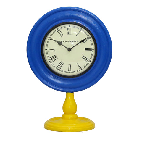 AZURE FEST DESIGNER TABLE CLOCK