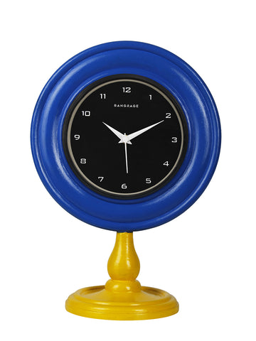 AZURE CELEBRATION DESIGNER TABLE CLOCK