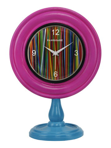 CARNIVAL DESIGNER TABLE CLOCK