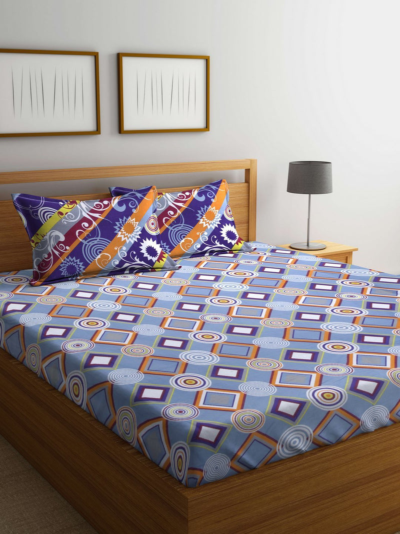 mafatlal-cotton-blue-144-tc-double-bedsheet-with-2-pillow-covers-HFBSASDLAS3024