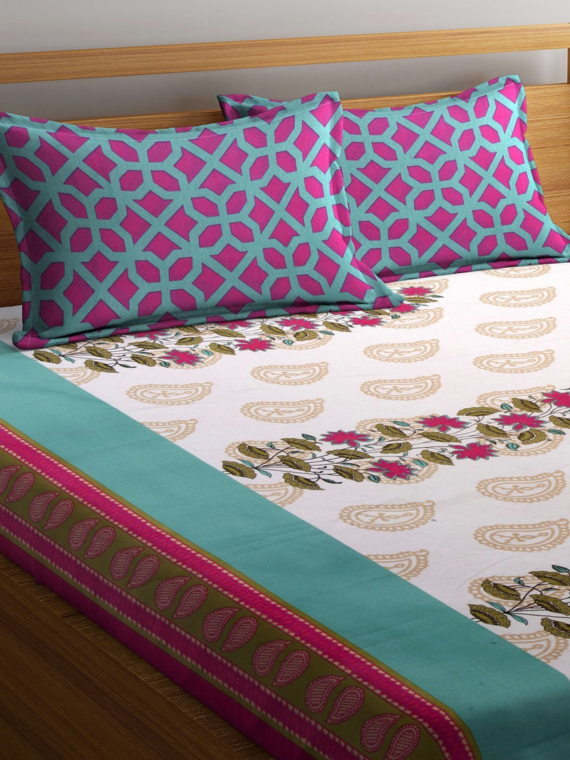 mafatlal-cotton-cream-110-tc-double-bedsheet-with-2-pillow-covers-HFBSFODLAS1009