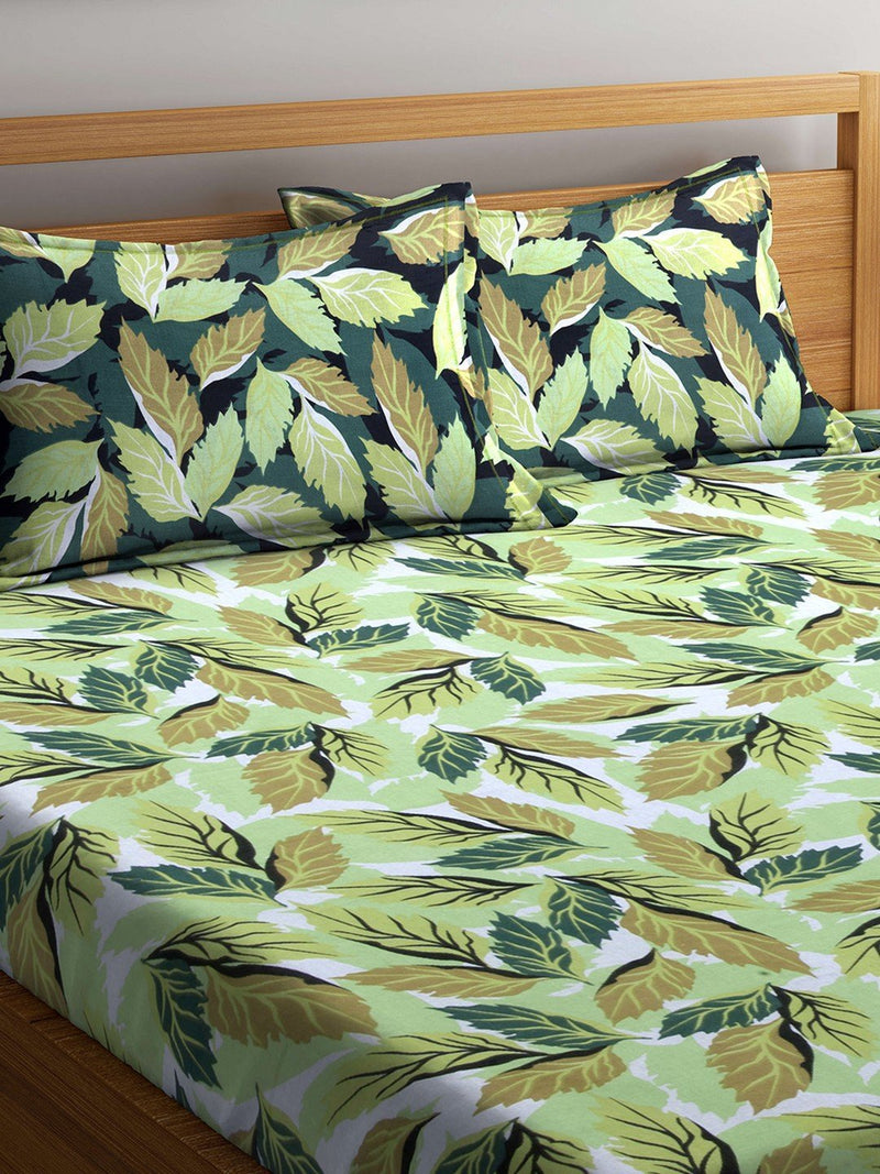 mafatlal-cotton-green-120-tc-double-bedsheet-with-2-pillow-covers-HFBSRODLASM3022B