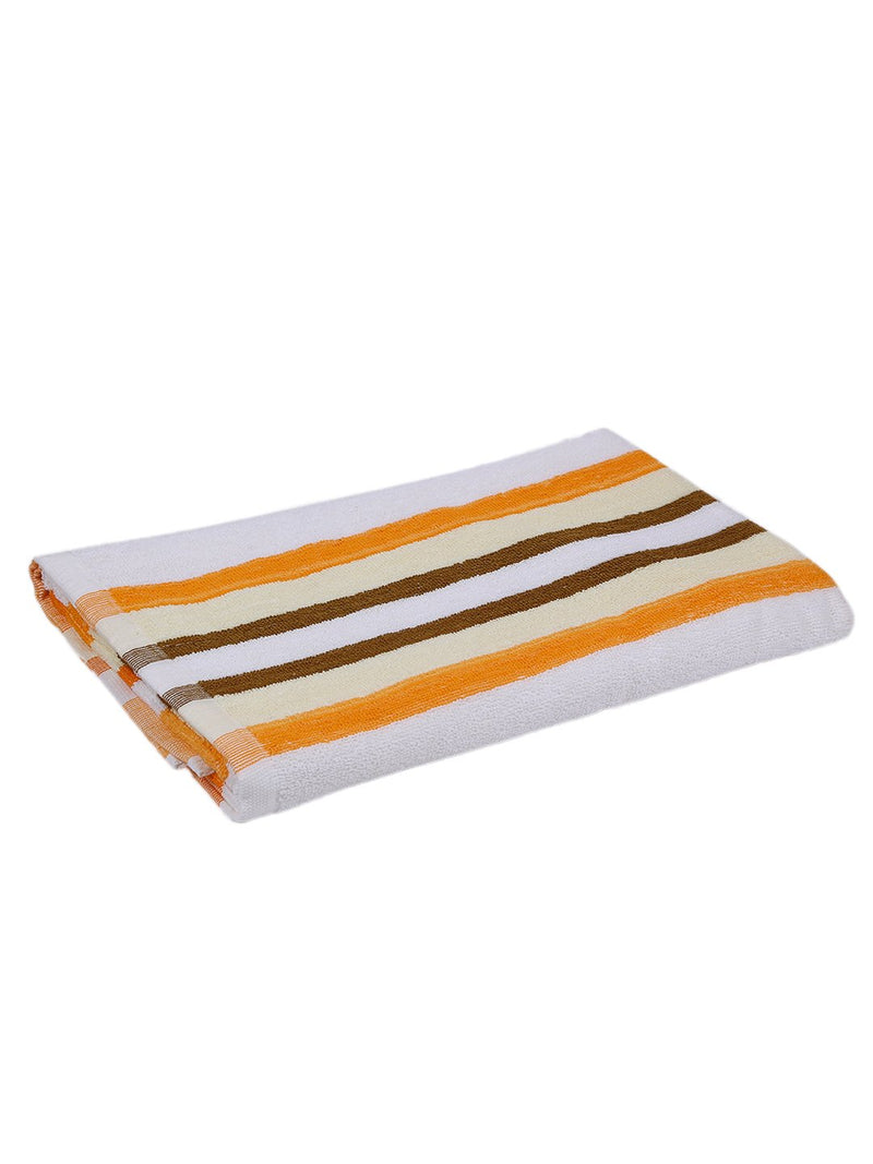 Yellow 100% Cotton 450 GSM Bath Towel