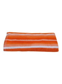 Orange 100% Cotton 450 GSM Bath Towel