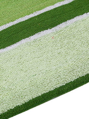 Green 100% Cotton 450 GSM Bath Towel