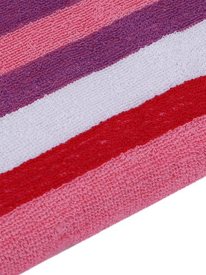Pink 100% Cotton 450 GSM Bath Towel