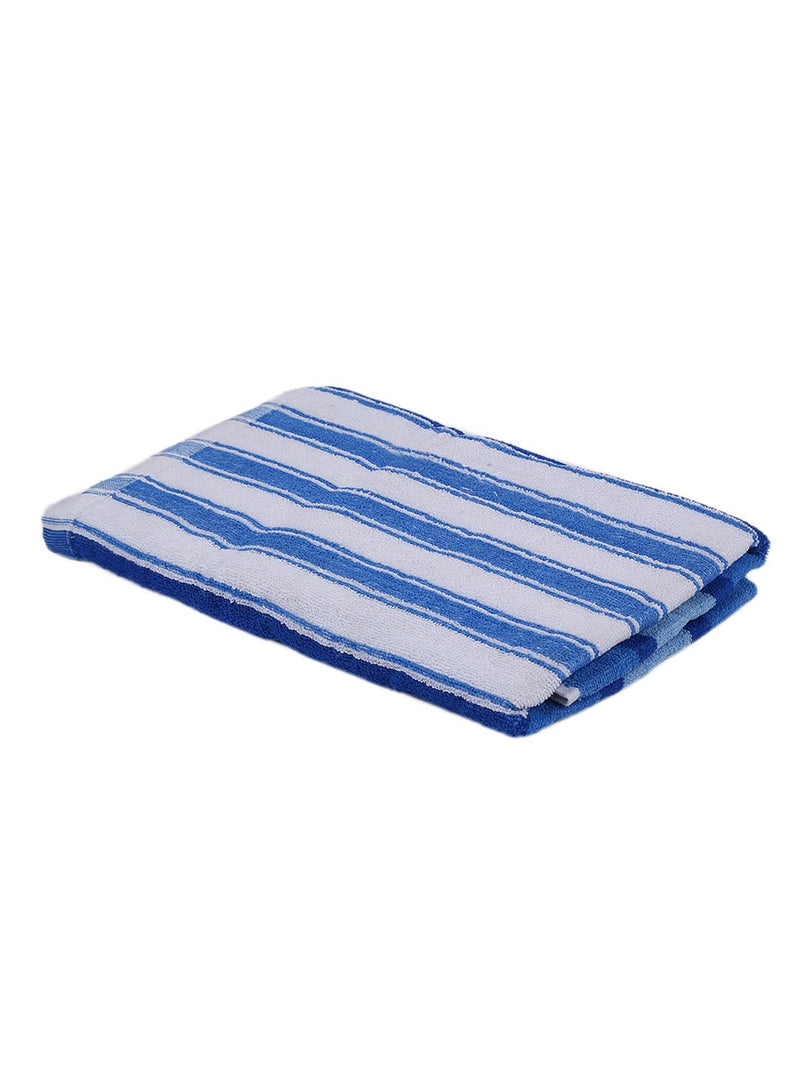 Blue 100% Cotton 450 GSM Bath Towel