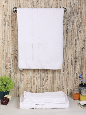 Set of 6, 100% Cotton 500 GSM Bath Towel