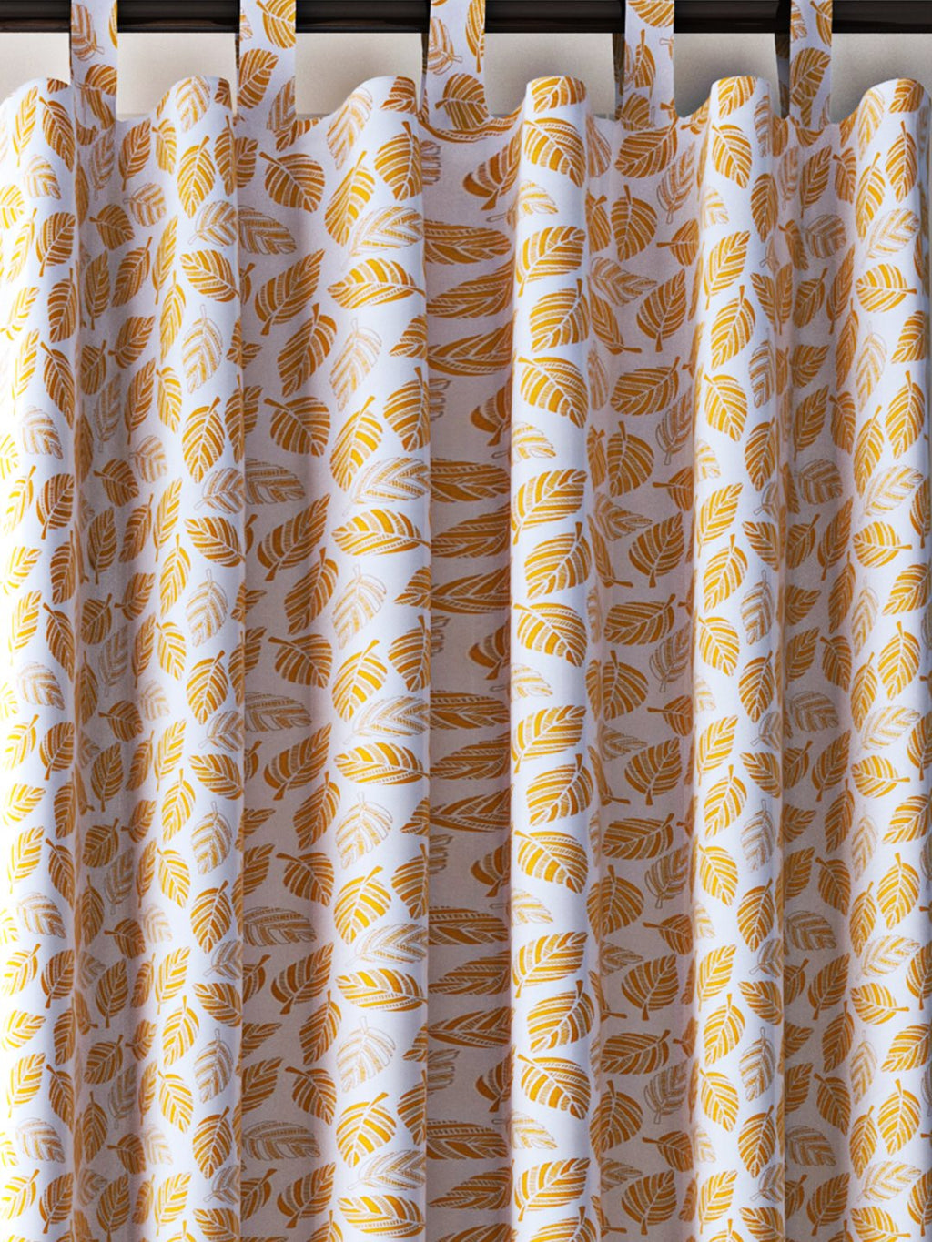 Handcrafted Amber Gift Curtains (Set of 2)