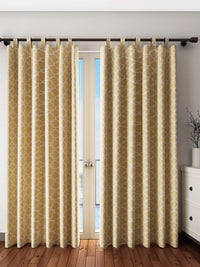 Handcrafted Sepia Offer Curtains (Set of 2)
