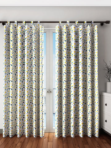 Handcrafted Youthful Artistry Curtains (Set of 2)