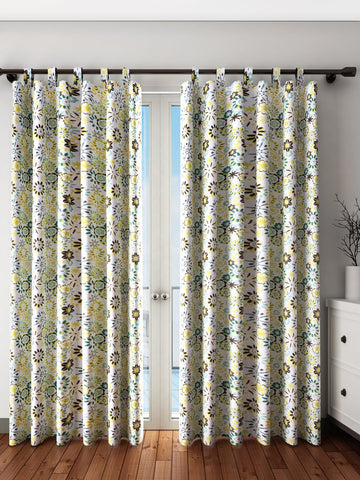 Handcrafted Flair Oasis Curtains (Set of 2)