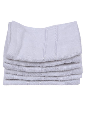 Maroon 100% Cotton 500 GSM Hand Towel (SET OF 6)