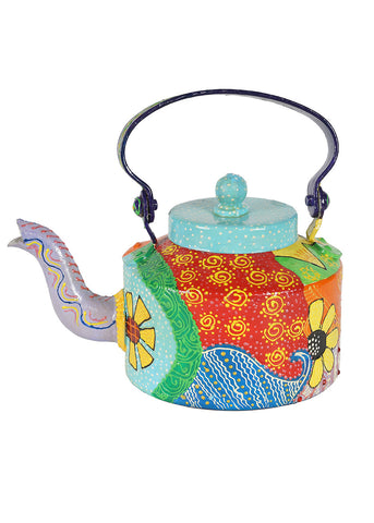Hand-painted Colorful Saga Kettle Set