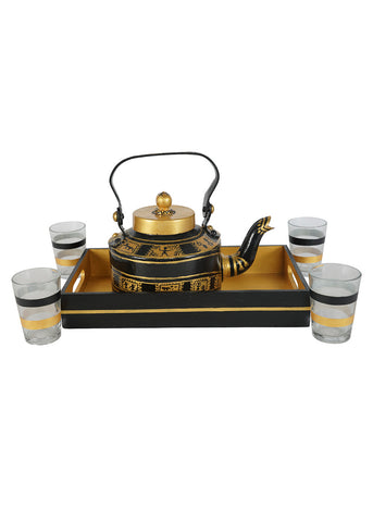 Hand-painted Classy warli Kettle Set