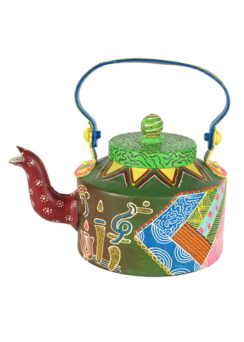 Hand-painted Arabic Elements  Kettle Set