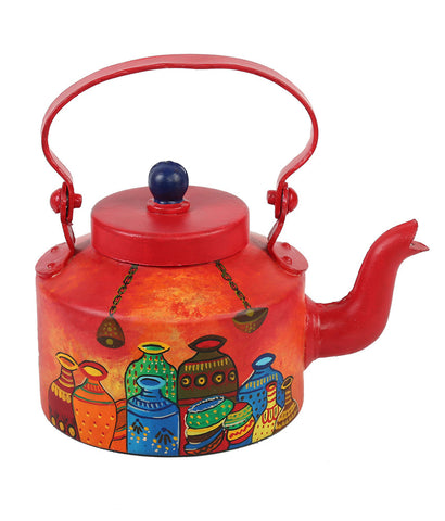 Hand-painted Bucolic Pots Kettle Set