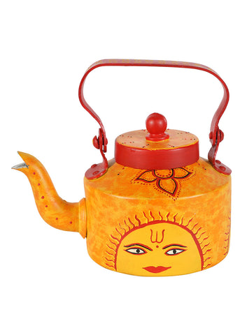 Hand-painted Sunny Side Kettle Set
