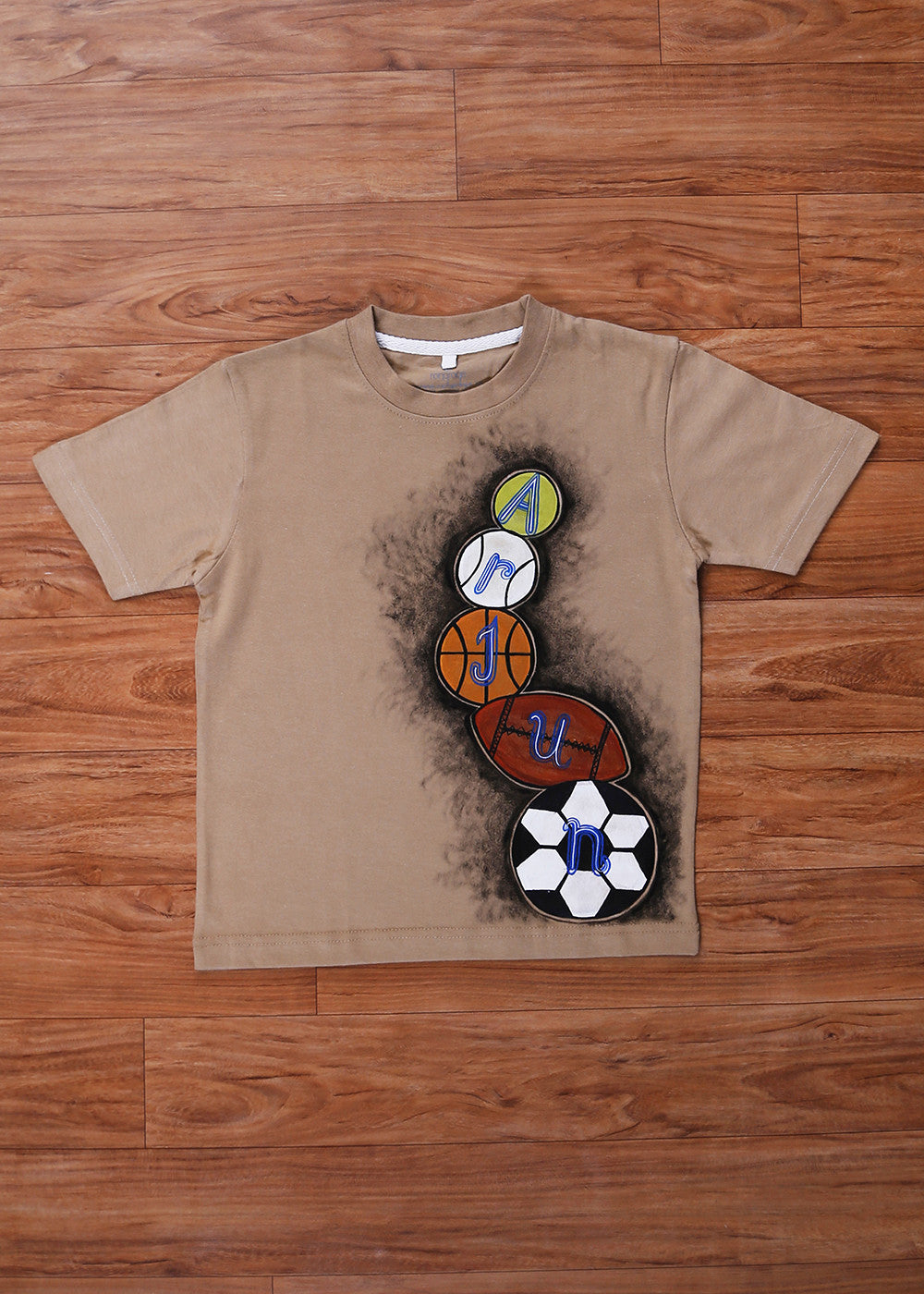 Hand-painted Customized T-Shirts For Boys - RANGRAGE
