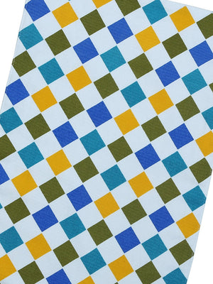 Handcrafted Checkered Delight Placemats (Set of 6)