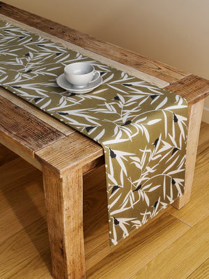 Handcrafted Umber Legacy Table Runner