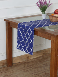 Handcrafted Persian Sapphire Table Runner