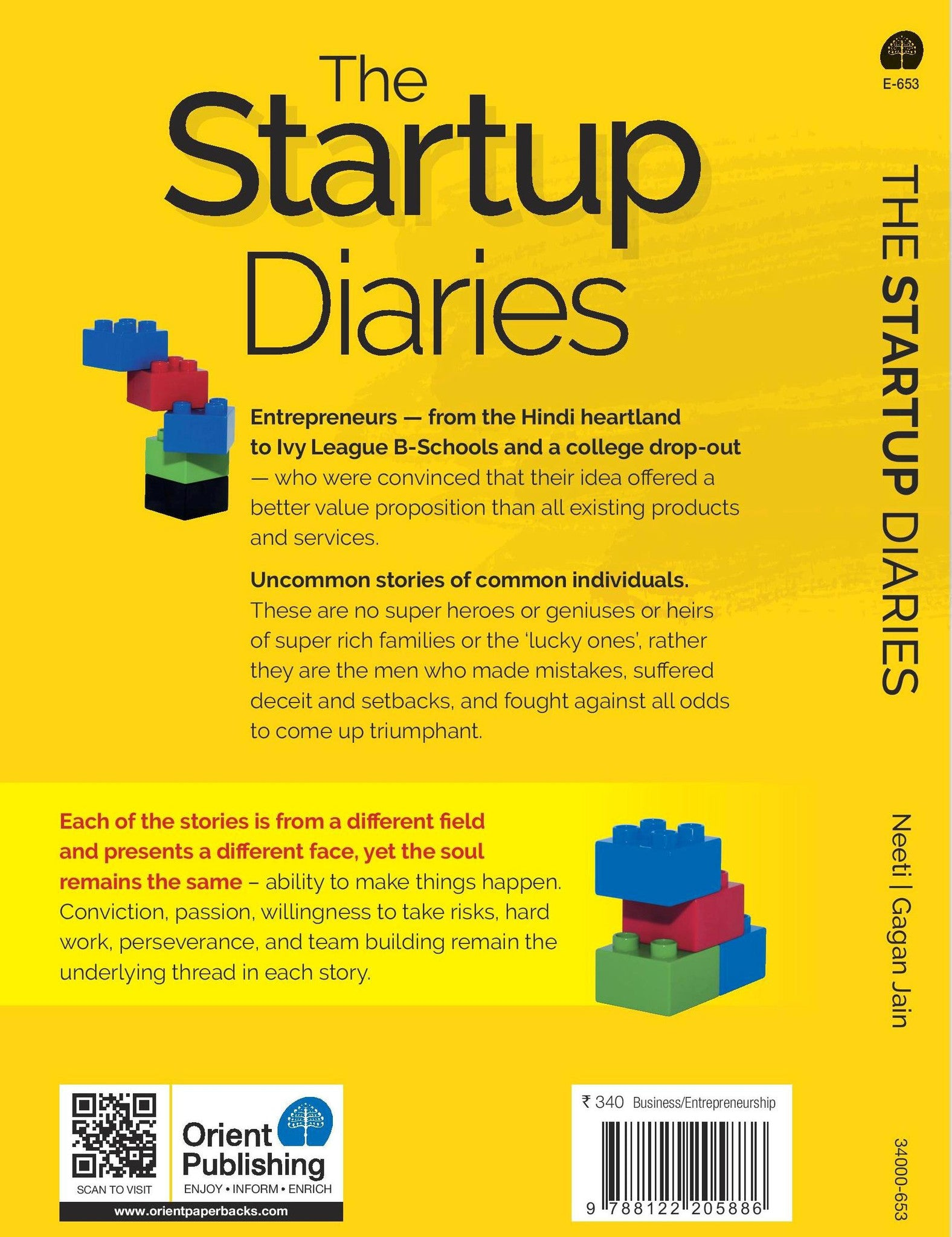 The Start Up Diaries - Ordinary Entrepreneurs, Extra Ordinary Journeys - RANGRAGE