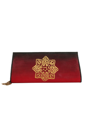 Hand-painted Wedding Treasures Clutch - RANGRAGE