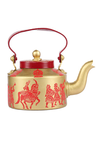 Hand-painted Beautiful Baraat Kettle