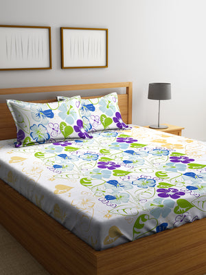 Bedsheets, Bed Sheet with Cushion Covers, Double Bedsheets, MAFATLAL BEDSHEETS