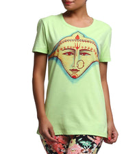 Hand-painted Divine Maa T-shirt - RANGRAGE  - 1