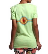 Hand-painted Divine Maa T-shirt - RANGRAGE  - 3