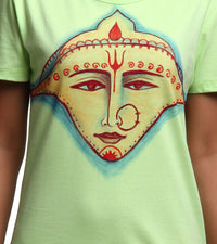 Hand-painted Divine Maa T-shirt - RANGRAGE  - 4