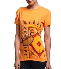 Hand-painted Divine Bowl T-shirt - RANGRAGE  - 3