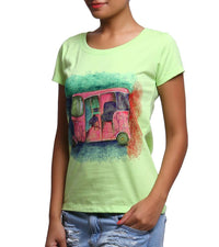 Hand-painted Colorful Auto T-shirt - RANGRAGE  - 3