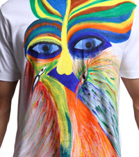 Hand-painted Abstract Conciousness T-shirt - RANGRAGE  - 2