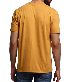 Hand-painted Vintage Car Yellow T-shirt - RANGRAGE  - 2