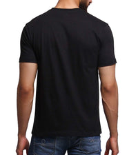 Hand-painted Rickshaw Black T-shirt - RANGRAGE  - 4