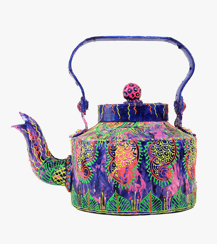 Hand-painted Cool Chaos Kettle