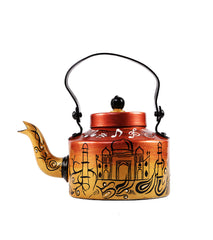 Hand-painted Wah Taj Kettle - RANGRAGE
