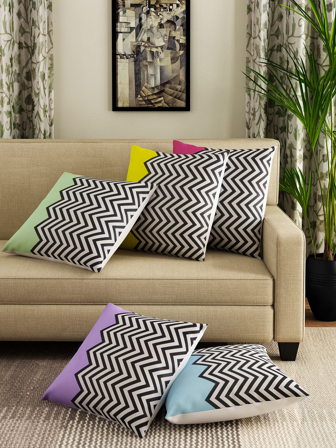 ECLECTIC CUSHION COVERS<