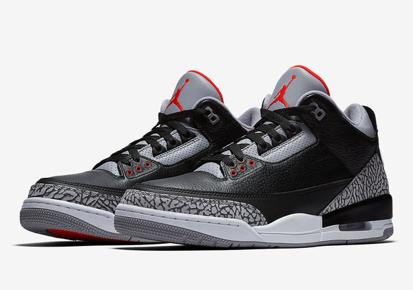 e8c7b71abc10 Detailed Look    Air Jordan 3 OG  Black Cement  – QSMNL