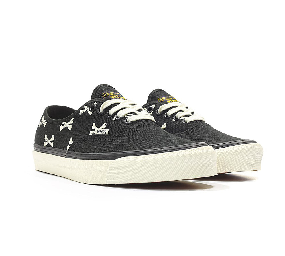 Vans x WTAPS Authentic - Bones (Black) – QSMNL 77ff8dccfcae
