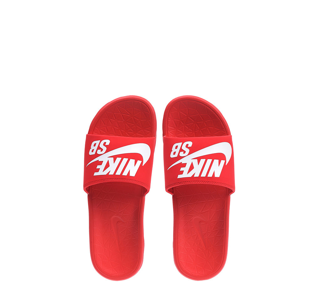 first look various styles quite nice Nike SB Benassi Solarsoft - Red