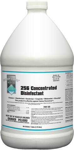 Shop Care 256 Concentrated Disinfectant
