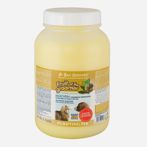ISB Fruit of the Groomer Zenzer Sambuca (Ginger& Elderberry) Pek Conditioner
