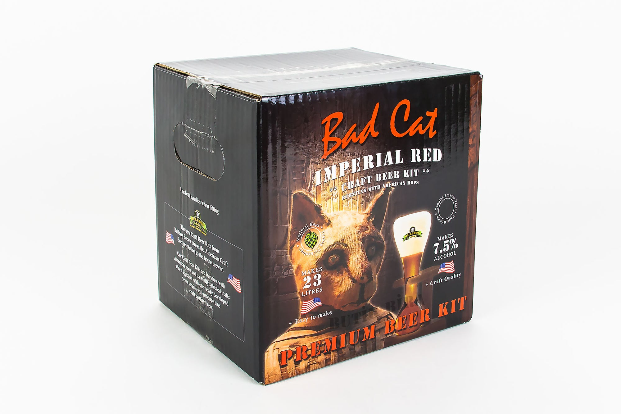Bulldog Bad Cat Imperial Red Evde Bira Yapımı Kiti - Butik Bira